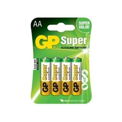 Batterier AA til dispenser 4pak
