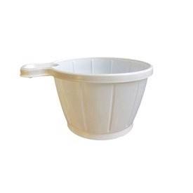 Alvorlig Engangskop - Plastik kop med hank 21 cl. i hvid. 800 stk. ZR62
